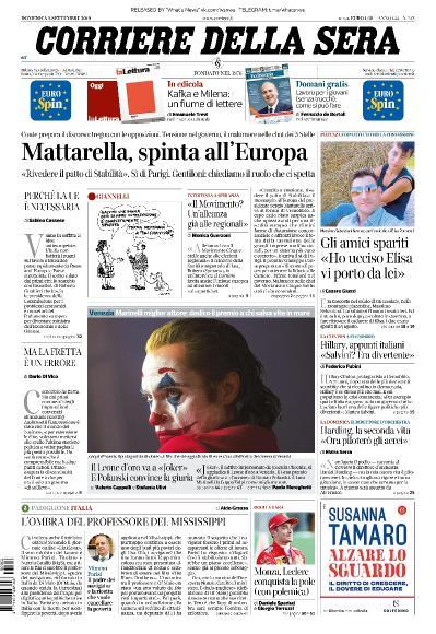 Corriere della Sera - 08 09 (2019)