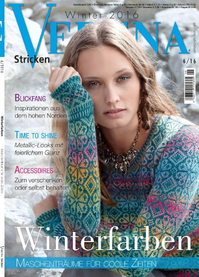 Verena Stricken Nr 6  Winter (2016)