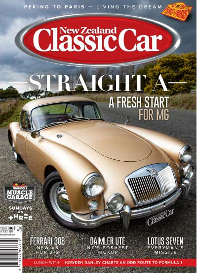 New Zealand Classic Car - October (2019)