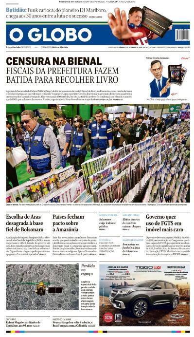 O Globo - 07 09 (2019)