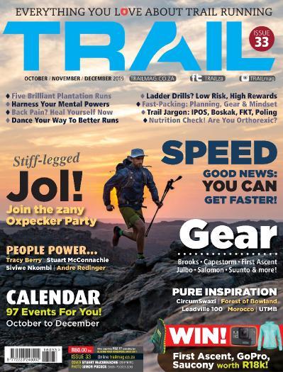 Trail South Africa - October-November-December (2019)