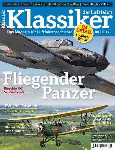 Klassiker der Luftfahrt  Nr 8 (2017)