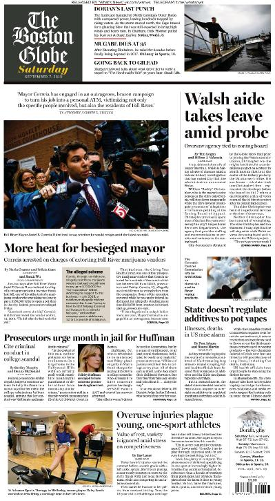 The Boston Globe - 07 09 (2019)