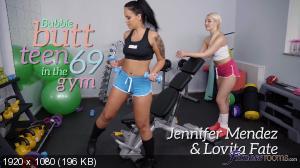 Lovita Fate, Jennifer Mendez - Bubble butt teen 69 in the gym [1080p]