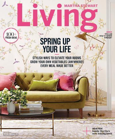 Martha Stewart Living - March (2017)