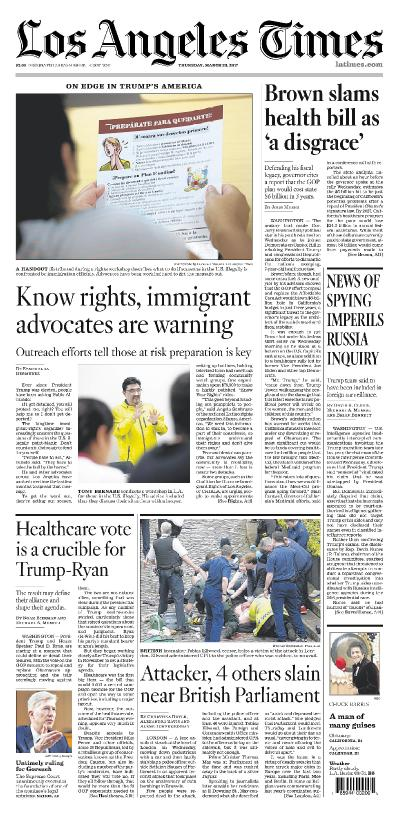 Los Angeles Times March 23 (2017)