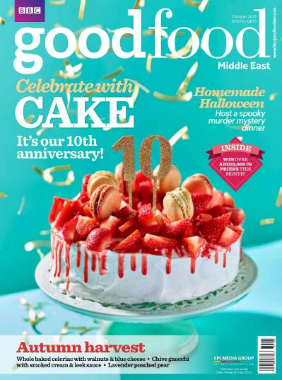 BBC Good Food Middle East  October (2017)
