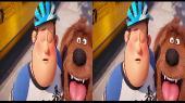 Тайная жизнь домашних животных 2 3D / The Secret Life of Pets 2 3D Горизонтальная анаморфная стереопара