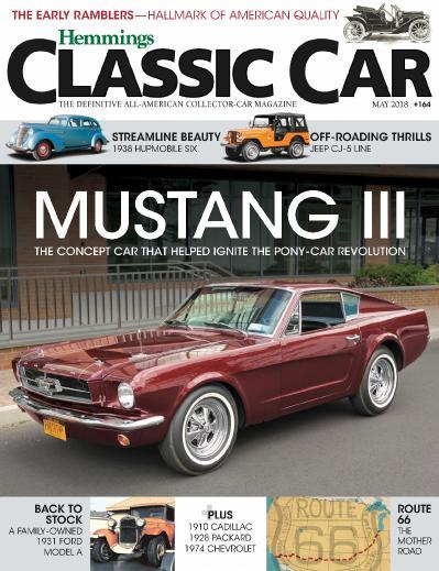 Hemmings Classic Car - May (2018)