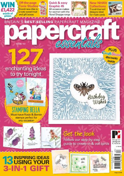 Papercraft Essentials  August (2018)