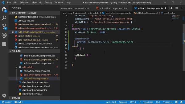 Angular 8 Real World WebApp Development w Node js & MariaDB
