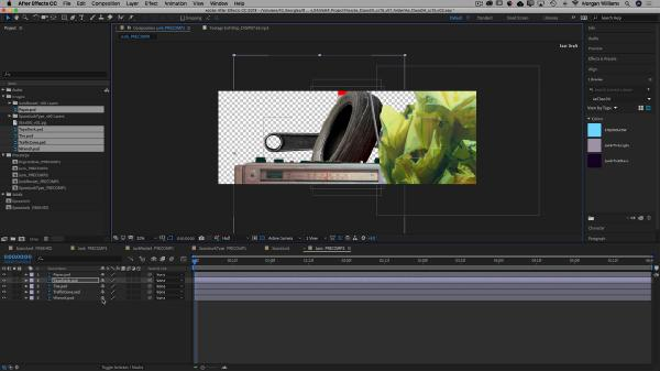 Animating With Precomps Intro To After Effects (Part 4)