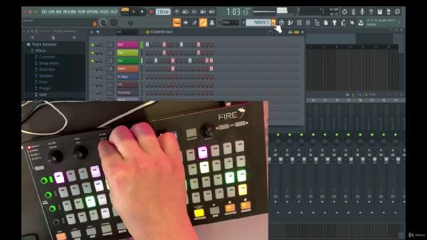 FL Studio Akai Fire Controller Course - FL Studio 20 Course