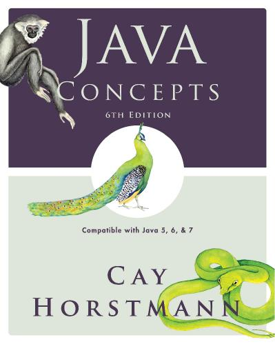 Java Concepts Compatible with Java 5, 6 and 7