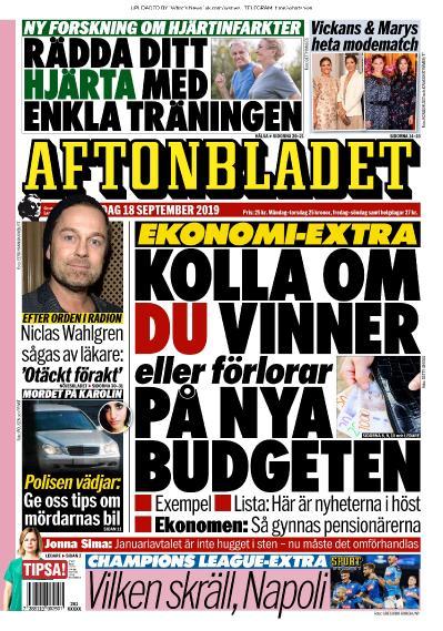 Aftonbladet - 18 09 (2019)