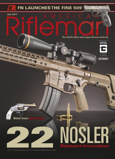 American Rifleman  July (2017)