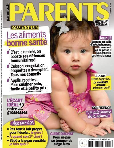 Parents France  Octobre (2017)