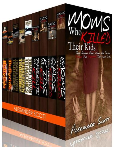 True Crime Stories Hollywood Deaths and Bullycide Box Set A about Celebrities Yout...