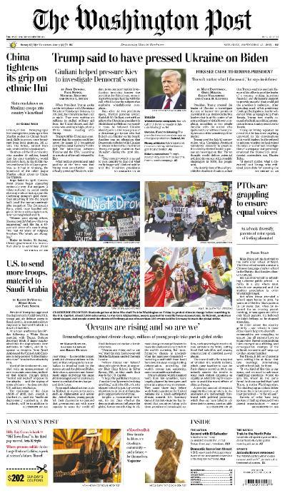 The Washington Post - 21 09 (2019)