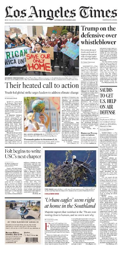 Los Angeles Times - 21 09 (2019)