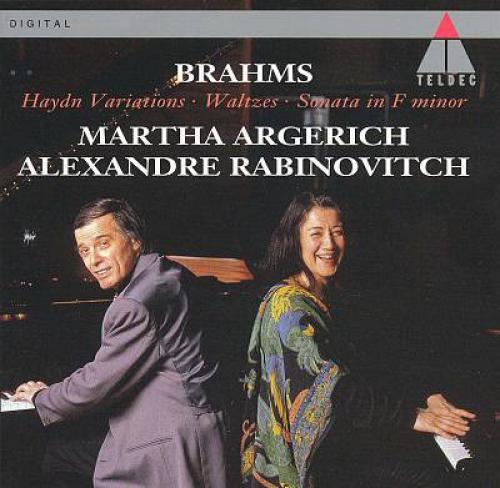 Brahms   Works for Two Pianos   Martha Argerich, Alexander Rabinovitch