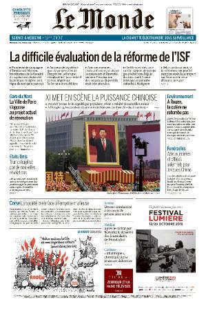 Le Monde - 02 10 (2019)