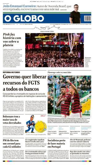 O Globo - 07 10 (2019)