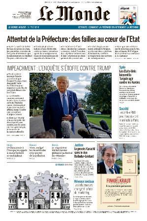 Le Monde - 08 20 (2019)